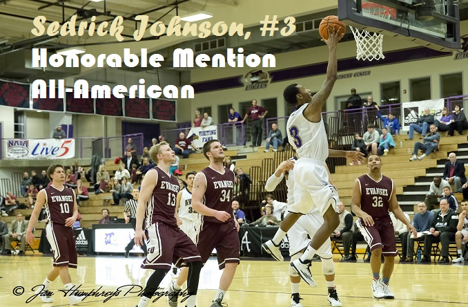 Sedrick Johnson was named an HM All-American for the second straight season