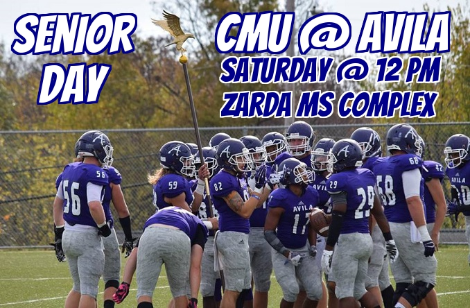 The Senior Day Ceremony will begin at 11:30 a.m. on the field Saturday morning.