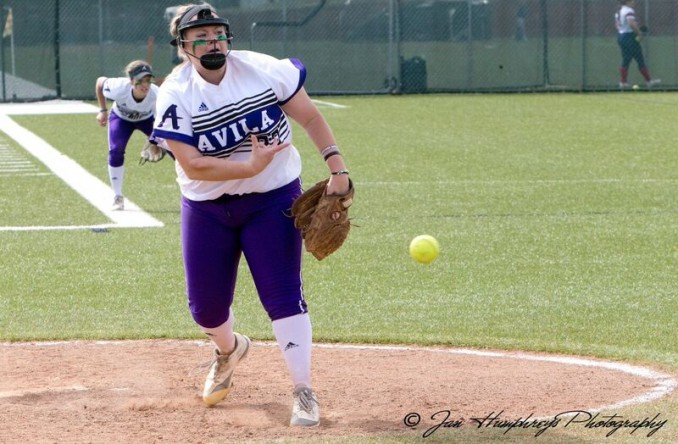 Kayleigh Behymer picked up her program record 17th win of 2017 on Tuesday vs. Evangel. (Photo Credit: Jan Humphreys)