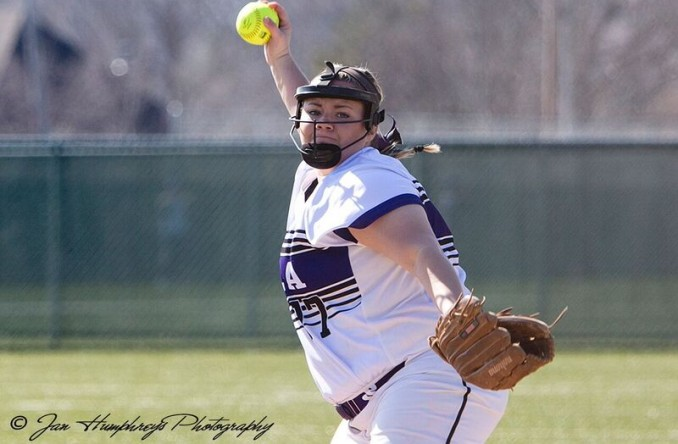 Kayleigh Behymer tossed a 1-hitter to pick up Avila's first regular season win over CMU since 2008 (Photo Credit: Jan Humphre