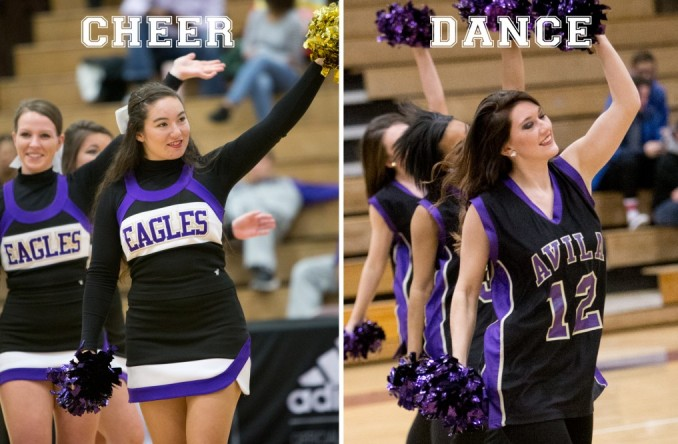 The Avila cheer and dance teams will look to win their 4th straight Spirit Squad title on Saturday in Fayette, Mo.