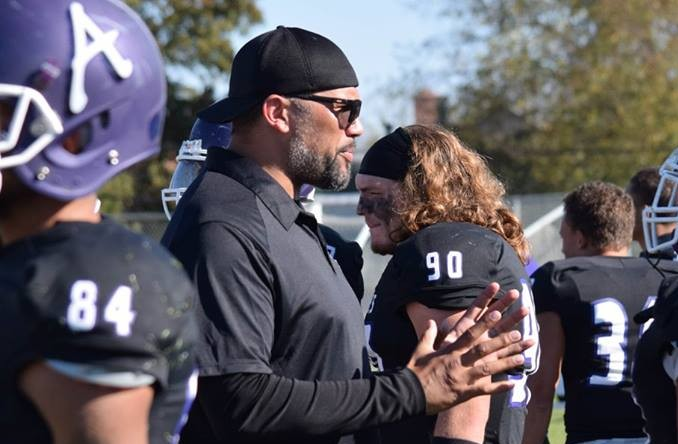 Eric Hicks is Avila's fifth head coach in program history. (Photo Credit: Arielle Berna)