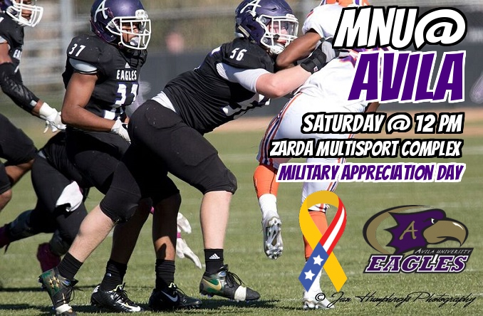 Avila will host Military Appreciation Day at Saturday's home game against MNU.