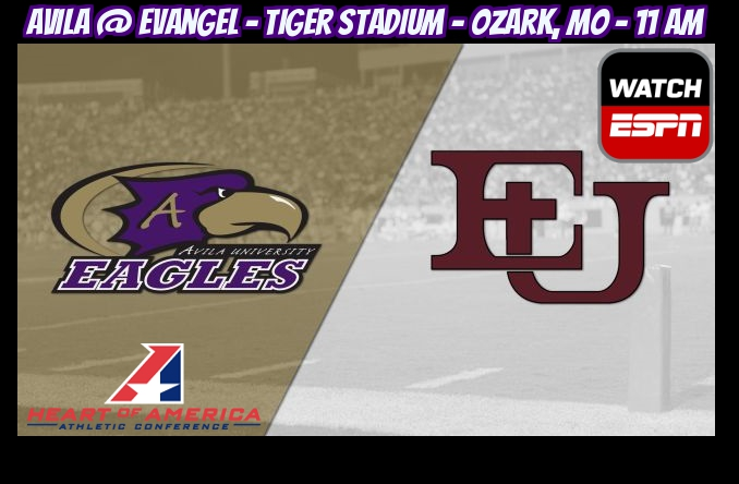 The Eagles will play on WatchESPN for the second time this season on Saturday at Evangel.
