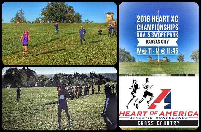 The Eagles will host the Heart XC Championships for the first time on Saturday at Swope Park.