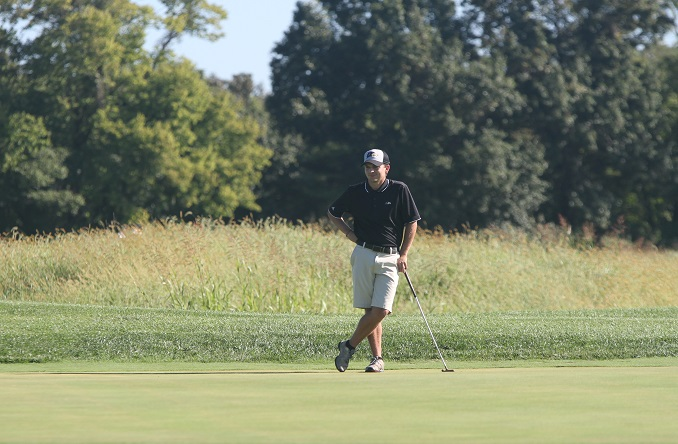 Taylor Livingston picked up the 4-3 win in match play on Saturday in Bonner Springs, Kan.