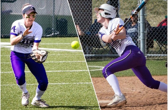 Mackenzie Pritchett (left) & Sam Dexter (right) each earned 2nd Team All-Heart. (Photo Credit: Jan Humphreys)