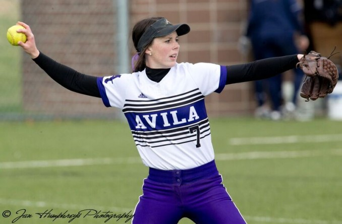 Sam Dexter provided the game-winning RBIs in Avila's game one win at CMU Sunday. (Photo Credit: Jan Humphreys)