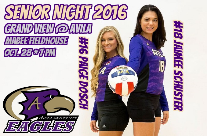 The Eagles will honor their seniors just before first serve Friday night at 7 p.m.