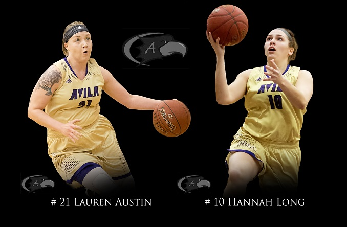 Lauren Austin and Hannah Long will be honored after Saturday's game for Senior Day (Photo Credit: Jan Humphreys)