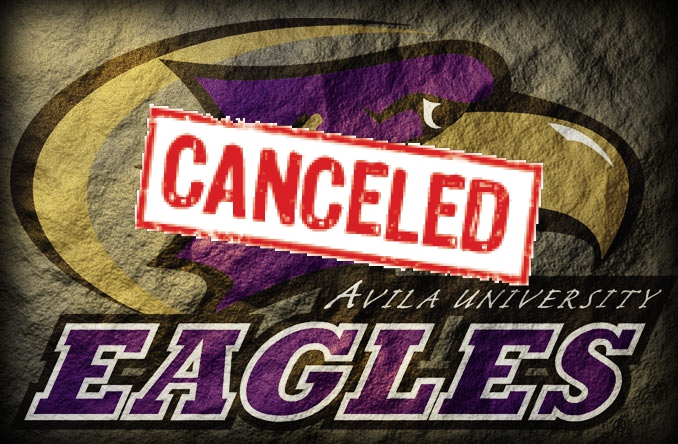This weekend's track meets have been canceled due to weather.